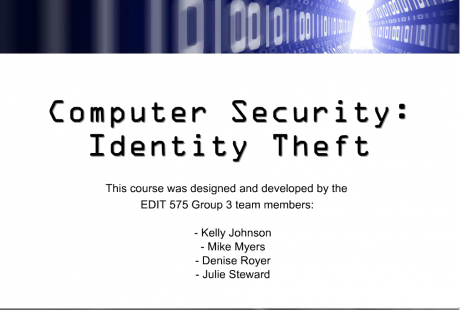 Click here to view our interactive computer security training